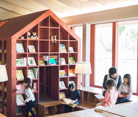 絵本の図書館
